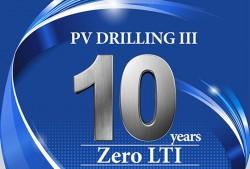 Thành tích an toàn đã nâng cao lợi thế cạnh tranh của PV Drilling