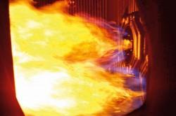 Đốt lửa lần đầu lò hơi Tổ máy số 2 dự án Nhiệt điện Sông Hậu 1
