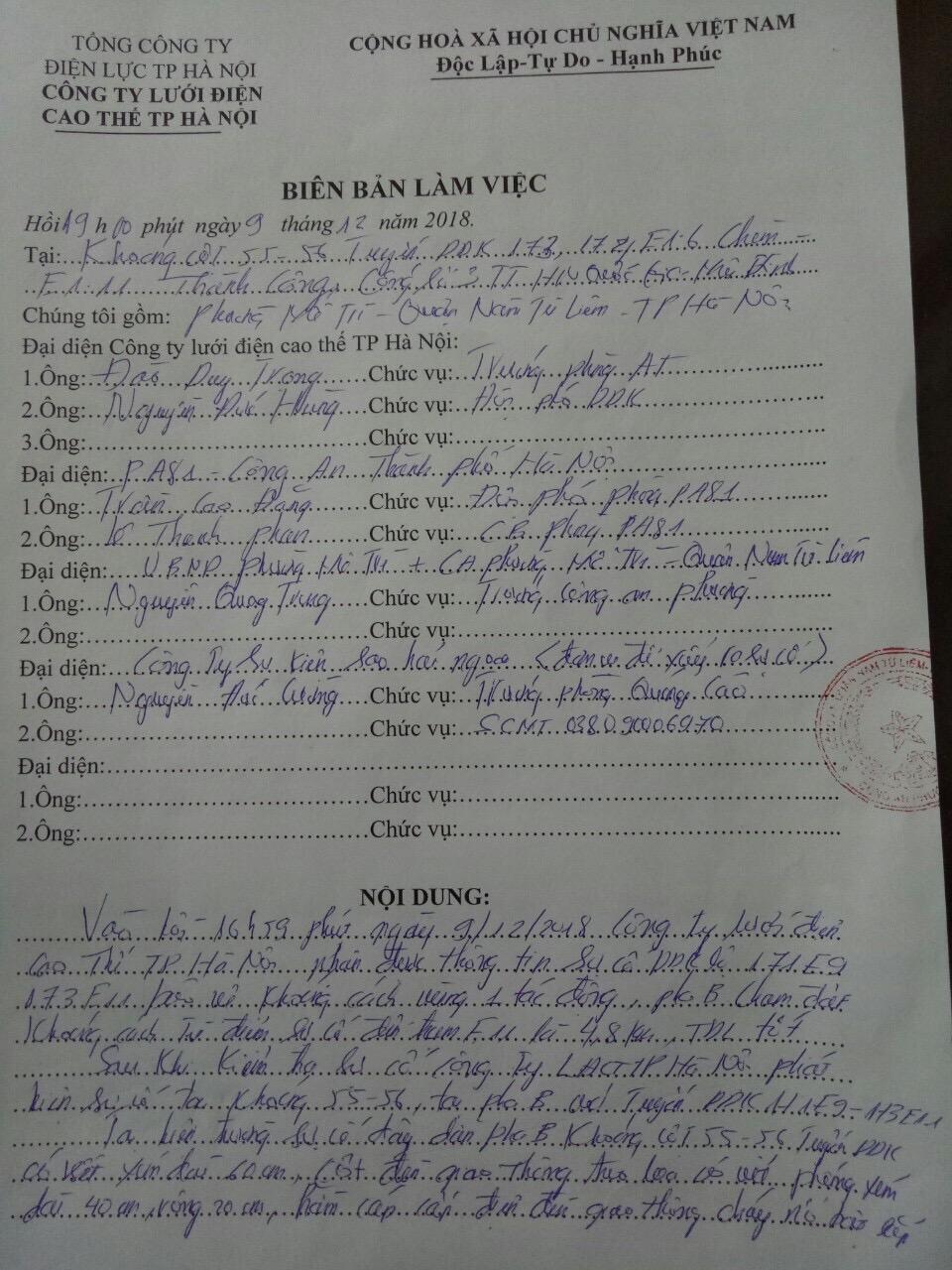 Nổ bốt điện trên đường Phạm Hùng khiến nhiều người bị thương?