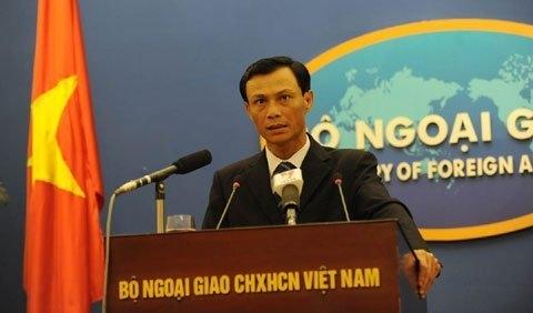 Người phát ngôn Bộ Ngoại giao trả lời về một số vấn đề trên biển Đông