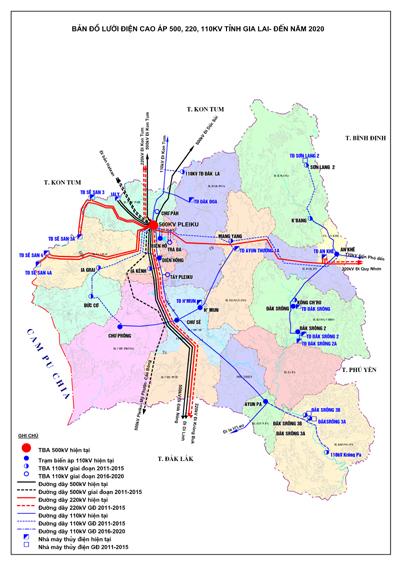 Quy hoạch phát triển điện lực tỉnh Hưng Yên giai đoạn 2011-2015 có xét đến 2020
